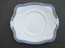 Vintage B.G.M. Tuscan English China Cake / Bread & Butter Handled Plate