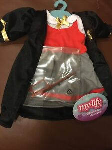 """My Life As Doll Wizard Halloween Costume for 18"""" Dolls"""