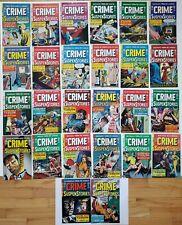 Wow! CRIME SUSPENSTORIES #1-5, 7-27 *Almost Complete EC Reprint Set!** Gemstone