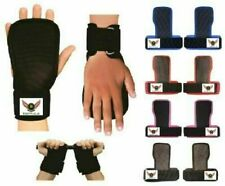 NEW ECHO Weight Lifting GYM PALM GEL PAD HAND GRIPS WRIST SUPPORT STRAPS