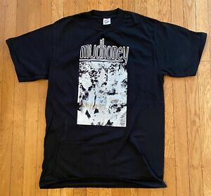 MUDHONEY Vintage T Shirt 1990 Large Grunge Sub Pop Punk NEVER WASHED