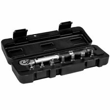 M-Part Torque Wrench. Adjustable 3-15 Nm. Includes Hex Headed Bits & Rigid Case