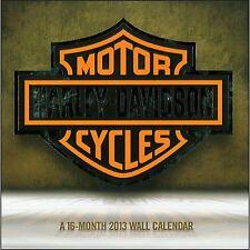 2013 Harley Davidson 16 Month Wall Calendar