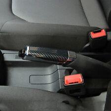 Hand Brake Protector Decoration Cover Black Carbon Fiber Auto Car Accessories