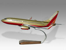 Boeing 737-700 Southwest Retro Classic Livery Handcrafted Wood Display Model
