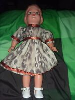 "Vintage 16"" Celluloid Child Doll Possibly Juwell Doll"