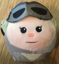 Hallmark STAR WARS Edition Plush Fluff Balls- Rey -New / FREE SHIP