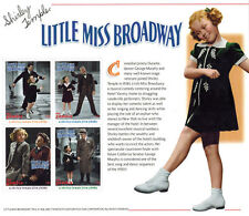 "SHIRLEY TEMPLE  ""Little miss Broadway"" collection Postage Stamps-2 SHEETS & S/S"