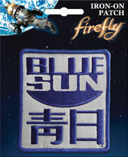 Firefly Serenity Iron On Patch: Blue Sun Logo