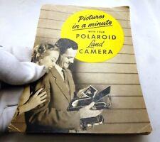 Polaroid Land Camera Instructions Guide Manual English