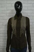 Camicia Maglia Blusa Donna MARLBORO CLASSICS M Shirt Woman Damenhemd Camicetta