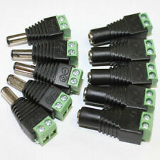 12V 10X DC Power Supply Plug Adapter Connector for 5050 3528 LED Strip Light_ws
