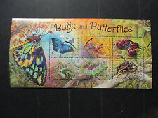 N0--2--  2003 BUGS & BUTTERFLIES-MINI  SHEET-- USED  IST DAY  CANCELLATION --A1