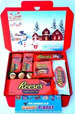 Reese's Christmas Trees American Candy Peanut Butter Chocolate Birthday Gift Box