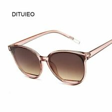 Oval Red Women Sunglasses Female Luxury Shades UV400