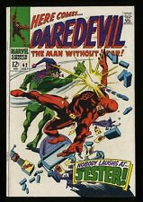 Daredevil #42 FN- 5.5 Marvel Comics