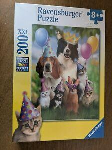 Animal Party 200 XXL Jigsaw Puzzle Ravensburger Birthday Dog Cat Bunny