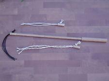 pipano Katzenangel 58 cm mit 3 wechselbaren Adaptern, Holz Spielangel, KSET158