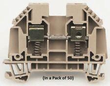 Weidmuller WDU10SL 500 V Feed Through Terminal Block (In a Pack of 50)