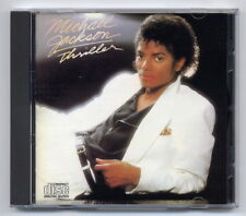 Michael Jackson CD Thriller 1st press JAPAN-FOR-EUROPE CDEPC 85930 matrix 101A2