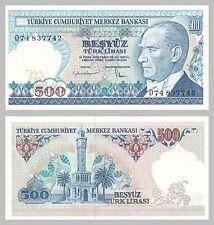 Türkei / Turkey 500 Lira 1983 p195 unz.