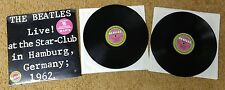 The Beatles - Live at the Star Club Hamburg Germany Double LP - VG+