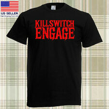 Killswitch Engage Metalcore Band Men's Black T-shirt Size S - 3XL