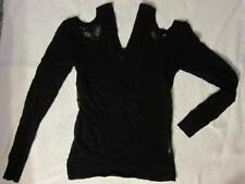 Junya Watanabe Comme des Garcons Cold Shoulder Twisted Knit Sweater - M