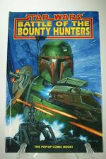 Star Wars Battle of the Bounty Hunters Pop-Up Hardcover Comic Book 1996 PA251