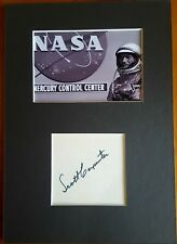 - ASTRONAUTE - AUTOGRAPHE SCOTT CARPENTER - MERCURY