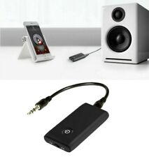 2 IN1 Wireless Bluetooth Transmitter Receiver Car AUX Music Stereo Audio Adapter