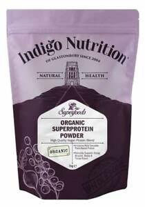 Organic Vegan Protein Powder Blend - Pea, Pumpkin, Rice, Hemp, Chia Protein
