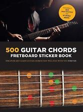 Guitar Chords: A Fretboard Sticker Book (Paperback or Softback)