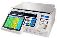 Cas Lp-1000N Ntep Brand New Label Printing, Market, Deli, Food Scale & Labels