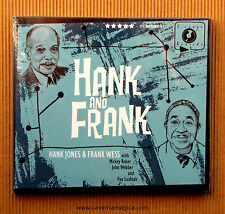 Hank Jones , Hank and Frank ( CD_Dibipack_U.S.A. )