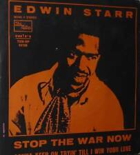 "EDWIN STARR STOP THE WAR NOW  7"" PROMO ITALY MOTOWN"