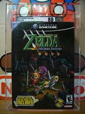 BRAND NEW VGA 80 Silver NM Zelda Four Swords Adv + GBA Cable NINTENDO GAME CUBE