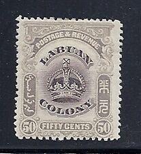 LABUAN 1902-03 (SG 127 50 cent) F/VF MH * read desc*