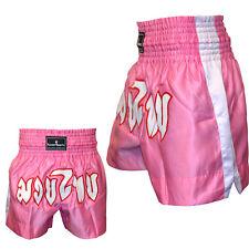 TurnerMAX Thai kick Boxing Short Mixed Martial Art Training Trunk MMA Pink Small