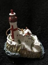 Harbour Lights Lighthouse Christmas Ornament 2 1/2�2000 East Quoddy New