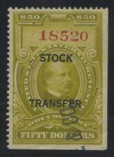 Stock Transfer revenue stamp Scott RD20