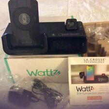 Wattz 3 in 1 projection alarm clock phone charger La Crosse Technology C80765