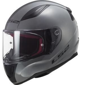 LS2 FF353 Rapid Nardo Grey Full Face Motorcycle Motorbike Road Touring Helmet