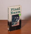 Final Exam VHS tape vintage cult horror Embassy
