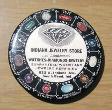 Early 20th Century Jewelry Store Advertising Cosmetic Purse Mirror