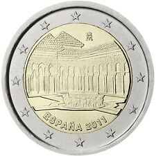 2 € Spanien 2011    Löwenhof Granada