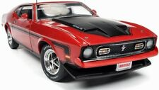 1971 Ford Mustang Mach 1 RED 1:18 Auto World 1150