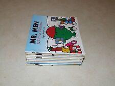Mr Men Books x 9 - Roger Hargreaves