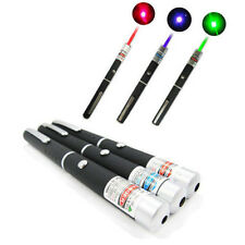 3PCS High Power 5mw Red+Green+Blue Purple Laser Pointer Pen Beam Light Lazer BG