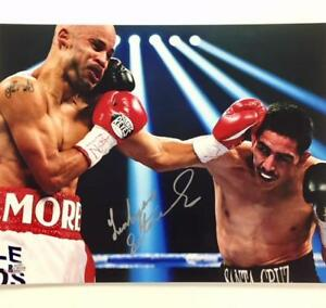 WBC World Champion LEO SANTA CRUZ Autograph Signed 11x14 Photo ~ BAS Beckett COA